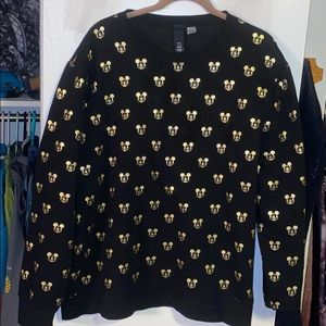 H&M Disney Mickey Mouse limited edition crewneck